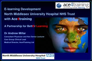 Dr Andrew Millar Consultant Physician and Hon Senior Lecturer Care Group Clinical Lead