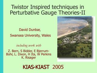 Twistor Inspired techniques in Perturbative Gauge Theories-II