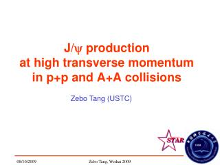 J/ y  production  at high transverse momentum  in p+p and A+A collisions