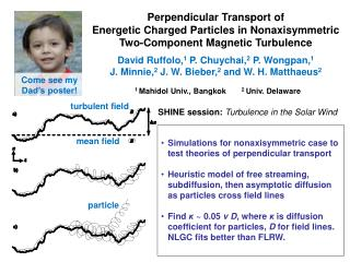 Perpendicular Transport of  Energetic Charged Particles in Nonaxisymmetric