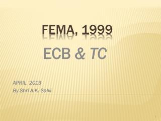 FEMA, 1999