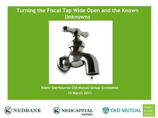 Turning the Fiscal Tap Wide Open and the Known Unknowns