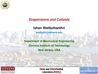 Suspensions and Colloids