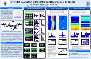 Reversible inactivation of the ventral auditory brainstem by cooling
