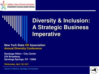 Diversity  Inclusion: A Strategic Business Imperative
