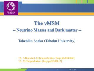 The  n MSM