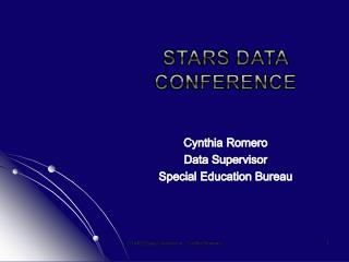 Stars Data Conference