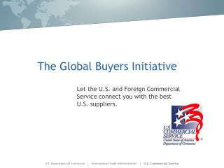 The Global Buyers Initiative