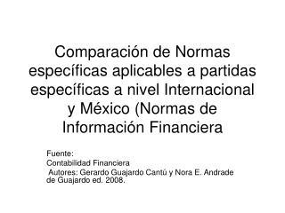 Fuente: Contabilidad Financiera
