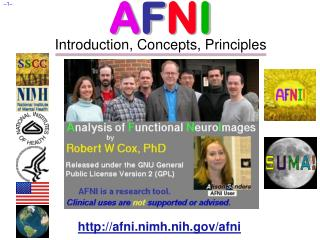 A F N I Introduction, Concepts, Principles