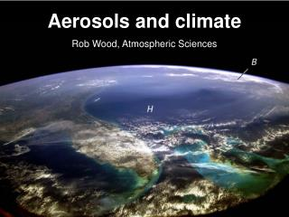 Aerosols and climate