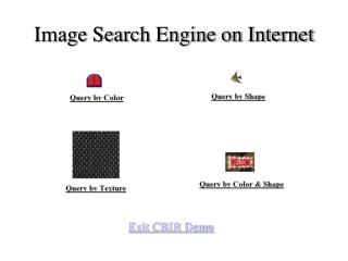 Image Search Engine on Internet