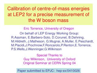 Calibration of centre-of-mass energies at LEP2 for a precise measurement of  the W boson mass