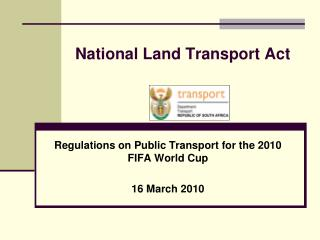 National Land Transport Act