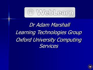 WebLearn