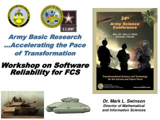 Army Basic Research …Accelerating the Pace  of Transformation