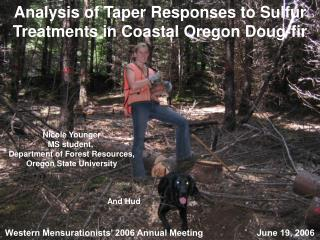 Analysis of Taper Responses to Sulfur Treatments in Coastal Oregon Doug-fir