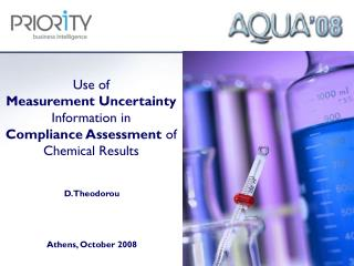 Use of  Measurement Uncertainty Information in  Compliance Assessment  of Chemical Results