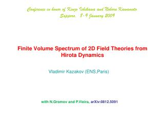 Finite Volume Spectrum of 2D Field Theories from Hirota Dynamics