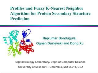 Profiles and Fuzzy K-Nearest Neighbor Algorithm for Protein Secondary Structure Prediction