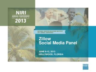 Zillow Social Media Panel