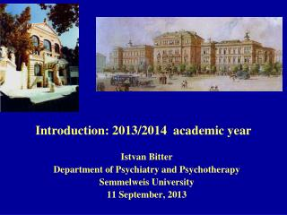 Introduction: 2013/2014  academic year