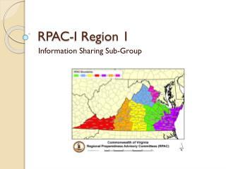 RPAC-I Region 1
