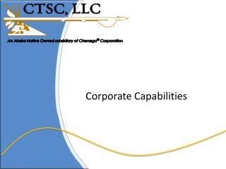 Corporate Capabilities