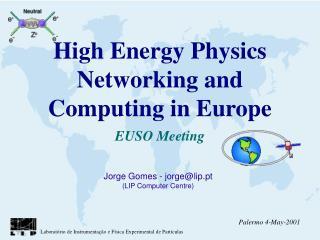 High Energy Physics Networking and Computing in Europe