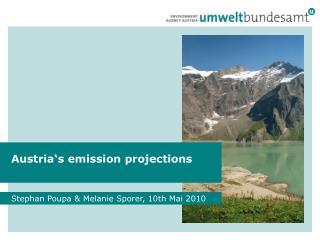 Austria's emission projections