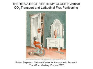 THERE�S A RECTIFIER IN MY CLOSET: Vertical CO 2  Transport and Latitudinal Flux Partitioning