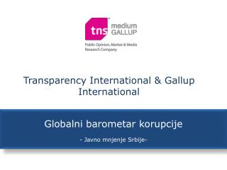 Transparency International & Gallup International