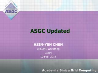 ASGC  Updated