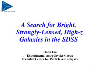 A Search for Bright,  Strongly-Lensed, High-z Galaxies in the SDSS