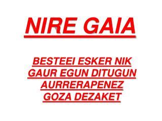 NIRE GAIA