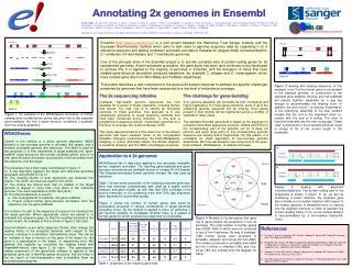 Annotating 2x genomes in Ensembl