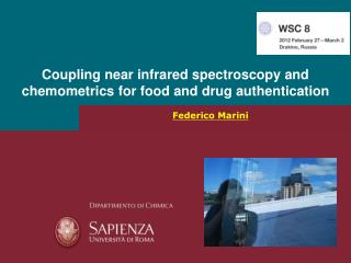 Coupling near infrared spectroscopy and chemometrics for food and drug authentication