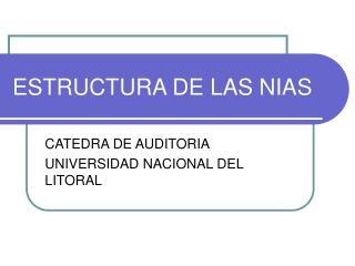 ESTRUCTURA DE LAS NIAS