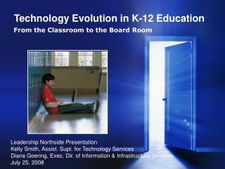 Technology Evolution in K-12 Education
