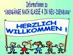 Kurze Beschreibung der weiterf hrenden Schulformen  in Neu-Isenburg nach Klasse 4 Hier: Gymnasium