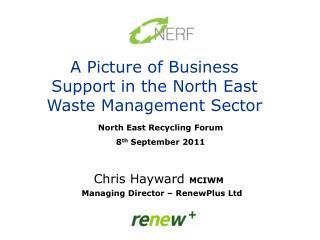 Chris Hayward  MCIWM