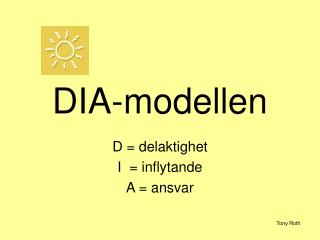 DIA-modellen