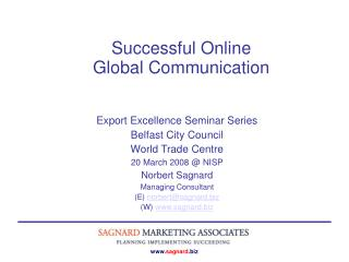 Successful Online  Global Communication
