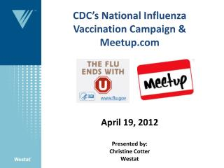 CDC National Influenza Vaccination Week (NIVW) Final Report  Partner Activity Screenshots