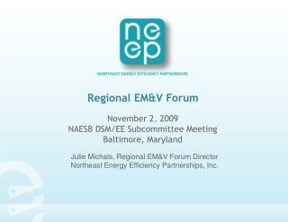 Regional EM&V Forum
