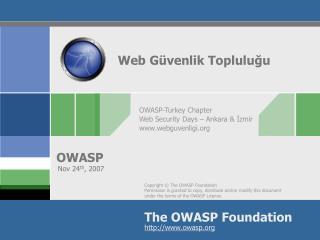 Web Güvenli k  Topluluğu