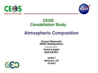 CEOS Constellation Study