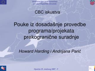 CBC iskustva