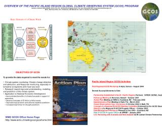 OVERVIEW OF THE PACIFIC ISLAND REGION GLOBAL CLIMATE OBSERVING SYSTEM (GCOS) PROGRAM