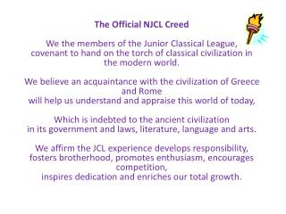 JCL creed